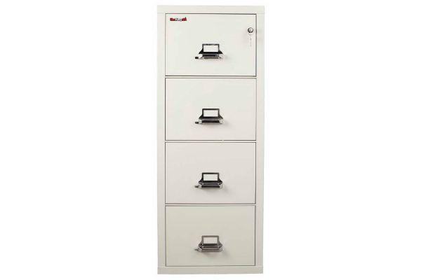 FireKing FK4-21 31 inch 4 Drawer Cabinet