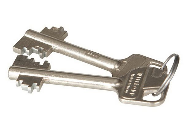 Extra key for Chubbsafes Homesafe