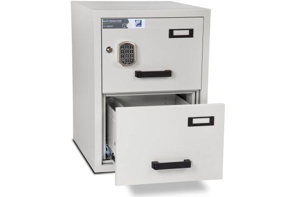Burton Fire Filing Cabinet FF 2 drawer E