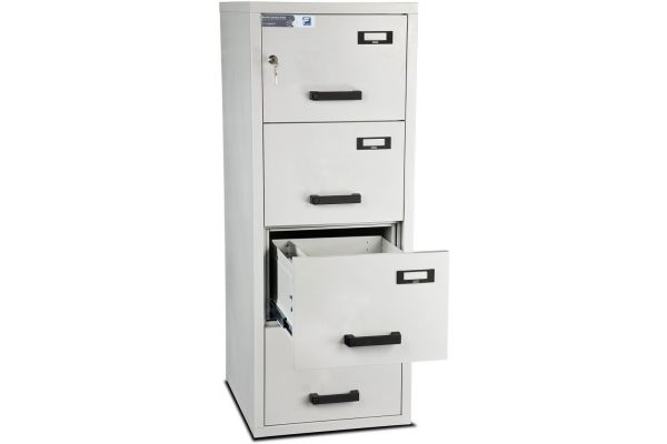 Burton Fire Filing Cabinet FF 4 drawer K