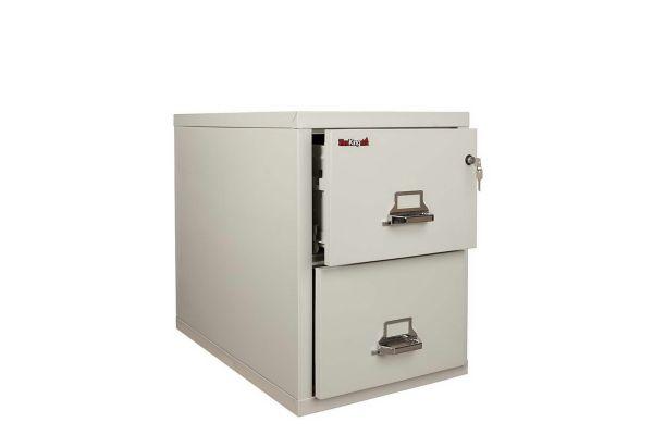 FireKing FK2-21 31 inch 2 Drawer Cabinet