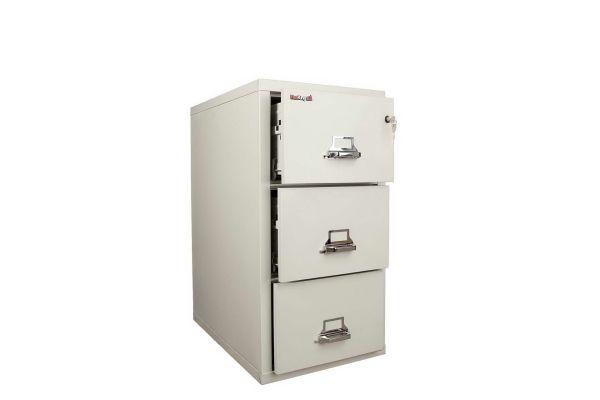 FireKing FK3-21 31 inch 3 Drawer Cabinet