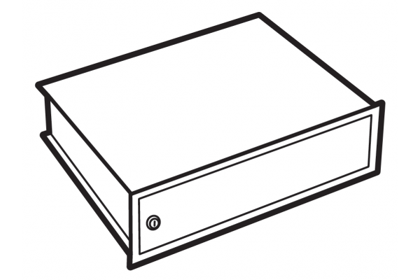 Chubbsafes Lockable Compartment Size 450
