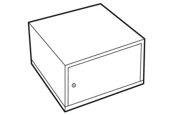 Chubbsafes Lockable Compartment DuoGuard & ProGuard 110-300