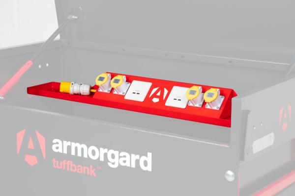 Armorgard 1500 Deep Powerbank Shelf (to Suit TBC5)