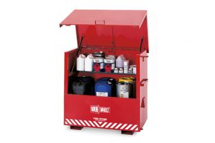 Van Vault Fire Store Site Box