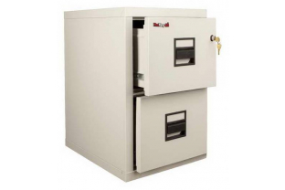 FireKing 2-1922 2 Drawer Compact Cabinet