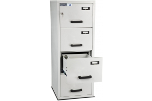 Burton Fire Filing Cabinet FF 4 drawer K