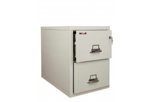 FireKing FK2-21 31 inch 2 Drawer Cabinet