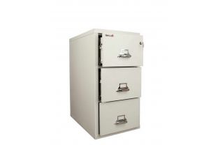 FireKing FK3-21 31 inch 3 Drawer Cabinet