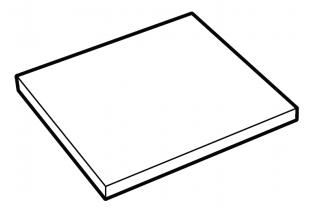 Extra legbord De Raat DRS-Pro model 156-187 Interieur