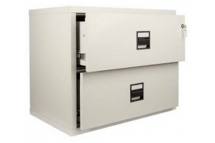 FireKing MLT2 2 Drawer Lateral Cabinet