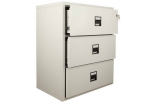 FireKing MLT3 3 Drawer Lateral Cabinet