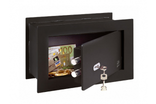 BurgWachter PointSafe PW1S Wall Safe