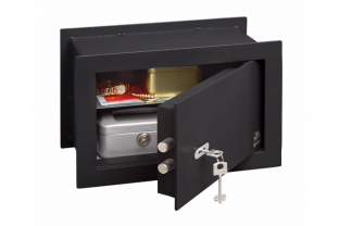 BurgWachter PointSafe PW3S Wall Safe